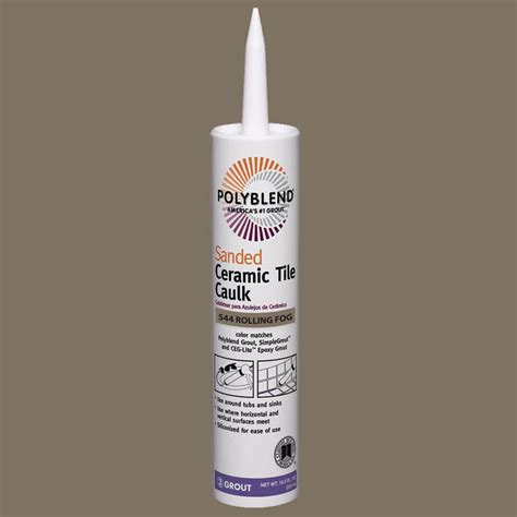 colorfast tile and grout caulk 28 images polyblend custom building products polyblend 544 rolling fog 10 5
