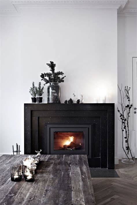 Perfection Fireplace by Best 20 Black Marble Ideas On
