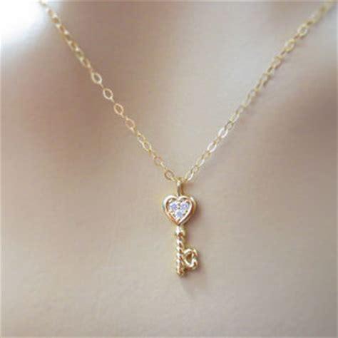 shop tiny gold necklace on wanelo