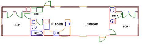 Commodore Homes Floor Plans 14 x 56 mobile home 171 mobile homes