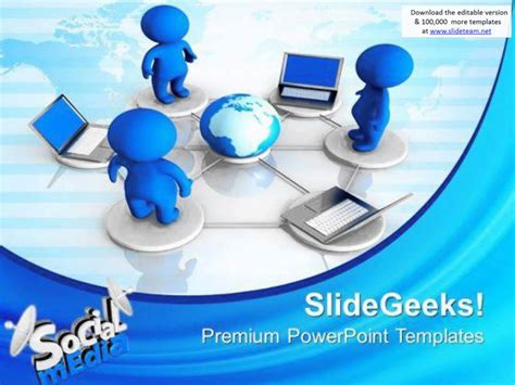 powerpoint templates for communication presentation social media networking communication powerpoint templates and powerpoint themes 0812