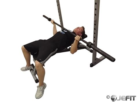 reverse incline bench press barbell wide reverse grip bench press exercise database
