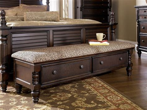 Bedroom Bench With Drawers by 17 Best Ideas About Bedroom Benches On Bed