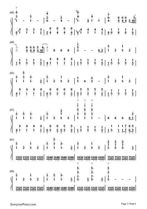 house of gold piano chords house of gold twenty one pilots numbered musical notation preview 3 free piano sheet