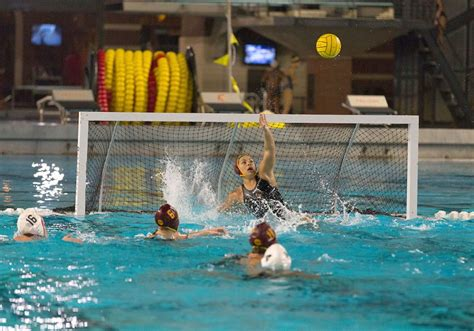 water polo goalkeeper books chamorro wins mpsf player of the week daily trojan