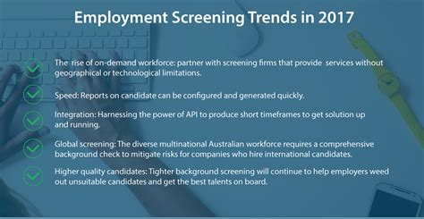 Background Check Contact Current Employer Pre Employment Screening Checks Are Booming In 2017 Intercheck