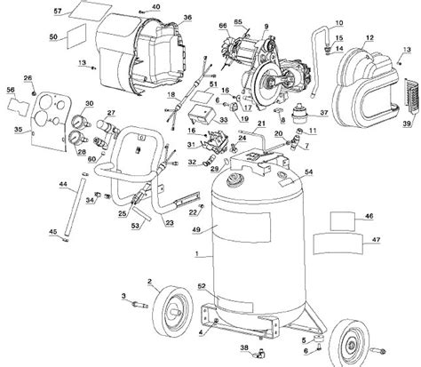 dewalt air compressor wiring diagram wiring diagram
