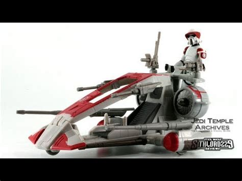 Wars Trooper Vehicles by Republic Scout Speeder W Arf Trooper Wars The