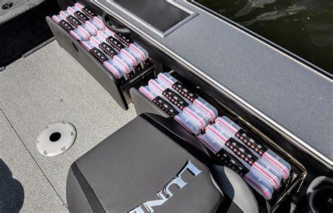 jon boat rod locker tournament walleye fishing boats lund pro v series