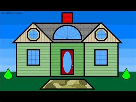 shape house learn shapes and build a dream play house for children