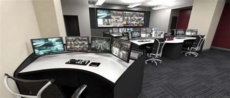 Home Network Security Design security operations center video wall consoles amp desks