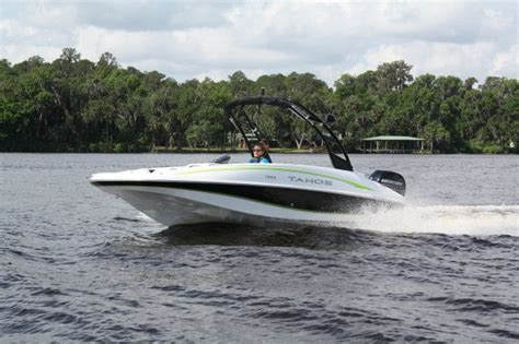 tahoe boat reviews 2017 tahoe 1950 boat test review 1244 boat tests