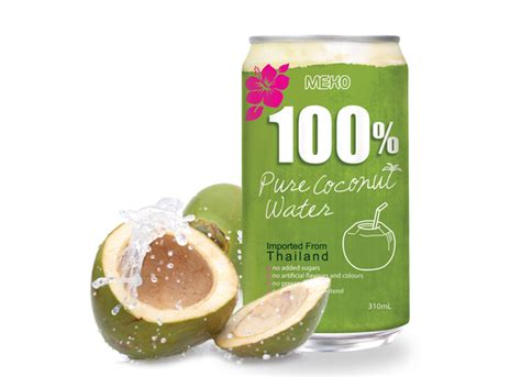 Can You Put Coconut Water In With Your Detox Drinks by Meko 100 Coconut Water