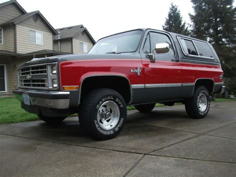 chevrolet blazer 1987 review amazing pictures and images