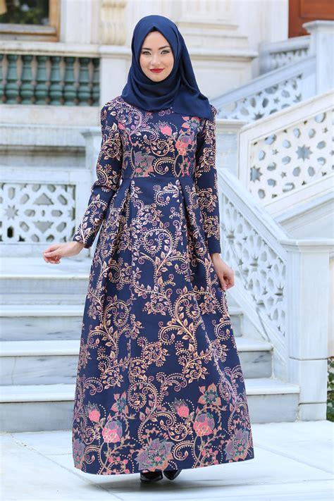 Baju Muslim Wanita Kombinasi Batik 44 Model Baju Batik Kombinasi Brokat Modern Untuk Pesta
