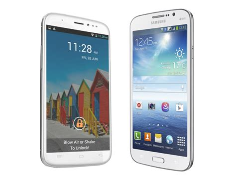 compare doodle 2 and galaxy mega micromax a240 canvas doodle 2 vs samsung galaxy mega 5 8