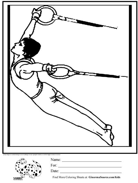 gymnastics positions coloring pages olympic gymnastics rings coloring page gymnastics