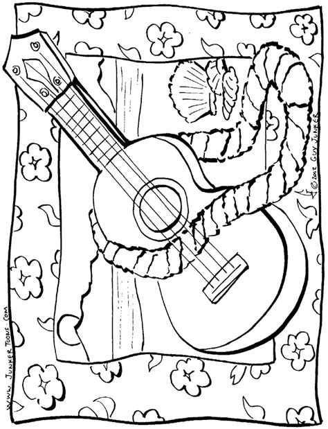 printable hawaiian coloring pages coloring home