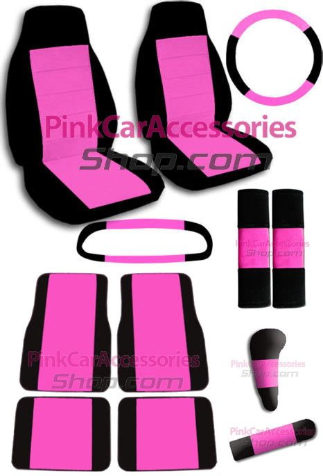 Pink Car Accessories   Hot, Pink and Girly