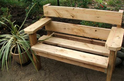 outdoor bench design  woodworking