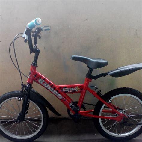 basikal bmx budak 2nd peralatan sukan basikal di carousell