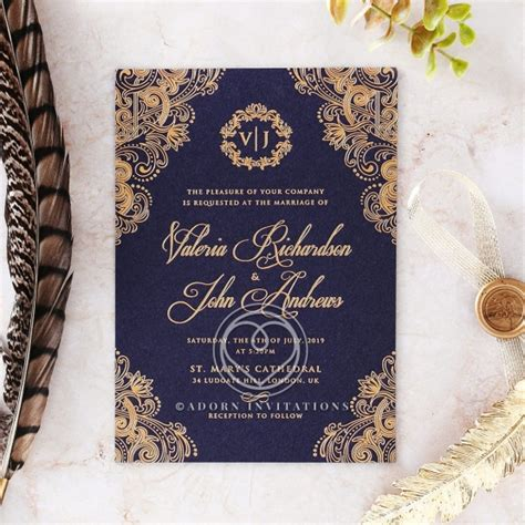 royal wedding invitations beautiful and breathtaking world charm wedding card