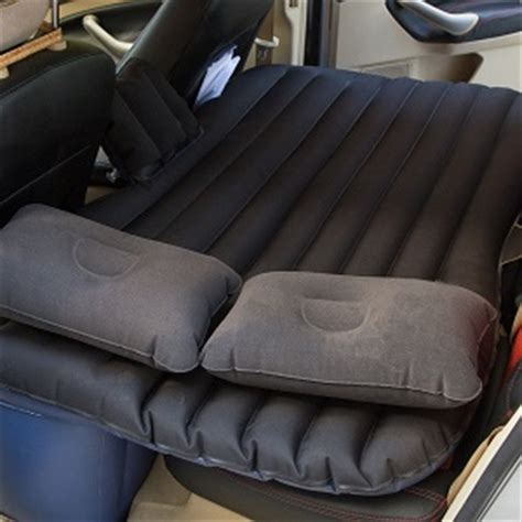 backseat bed inflatable air mattress beds for car suv backseat or
