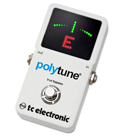 Tc Electronic Polytune2 tc electronic polytune 2 pedal tuner musician s friend