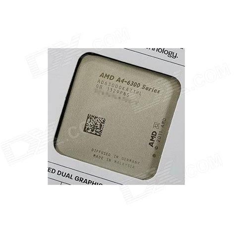 Amd A4 6300 Richland 3 7ghz Processor amd a4 6300 richland dual 3 7ghz 3 9ghz turbo