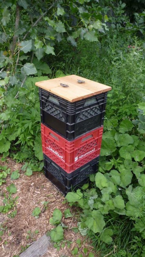 Vertical Garden Barrel - diy compost bin ideas the owner builder network