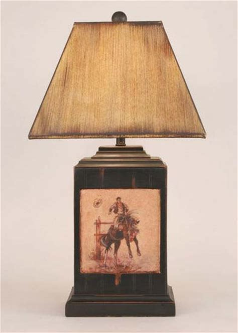 Bronco Western Lamp: Western Passion
