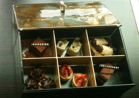 hotel room food ideas amenity chocolate box by glass studio for st regis hotels amenities and perks