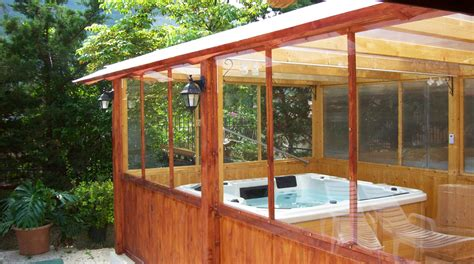 minipiscina idromassaggio nella tua veranda chiusa