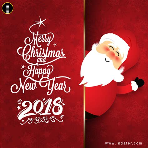 merry and happy new year card template happy new year and merry greetings psd template