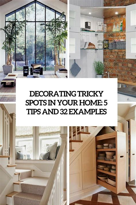 unique home decorating ideas unique home decor ideas for all these tricky spots 5 tips