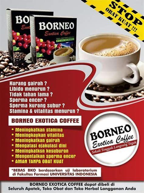 jual kopi stamina pria kopi borneo herbal atasi