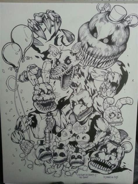 Fnaf 1 Sketches by Mike Fnaf En Recherche Five Nights At