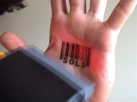 barcode tattoo youtube scanning barcode tattoos by scott blake youtube