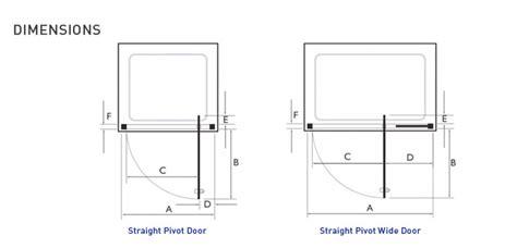 Shower Door Dimensions Kudos Original 1000mm Pivot Wide Shower Door 3pw100s