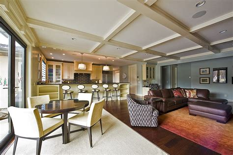 open floor plan pictures try out a simple change of color for different spaces in