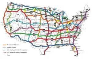 us map with interstate 10 aashto approves framework for u s bike route system