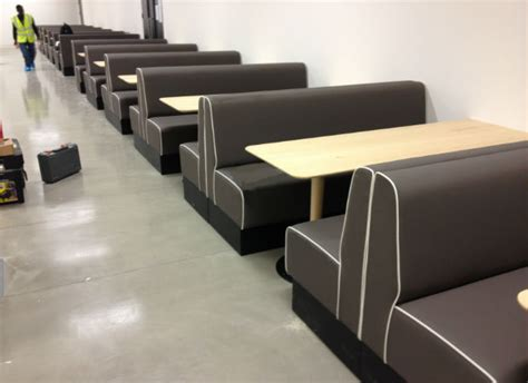 Upholstered Banquette Seating Suppliers by Upholstered Restaurant Booths Fixed Bench Bar Seating