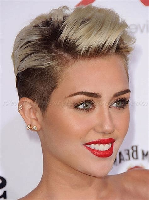 how to style miley cyrus hairstyle undercut hairstyles miley cyrus undercut hairstyle