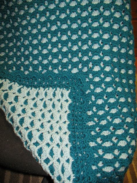 two color baby blanket knitting pattern 2 sided baby afghan yarn lover s room crochet