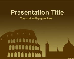 powerpoint themes rome rome powerpoint template