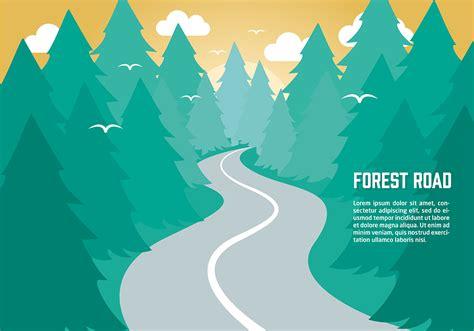 flat design wallpaper vector free flat nature vector background download free vector
