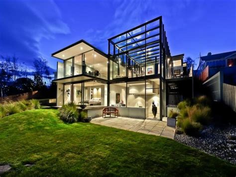 glass wall house een huis glas freshgadgets nl
