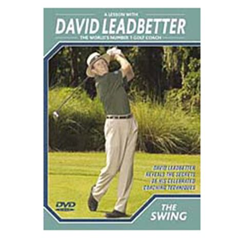 swing dvd david leadbetter the swing dvd new ebay