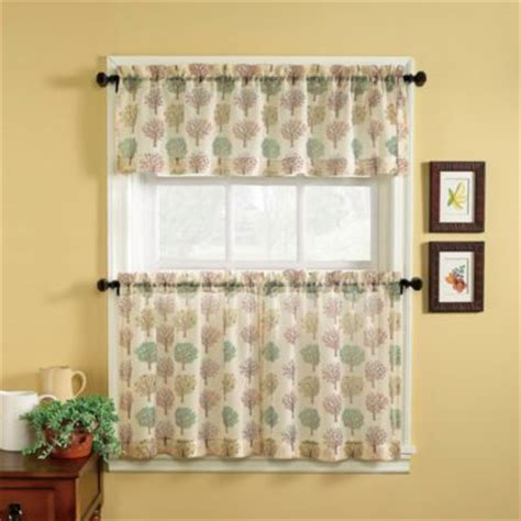 buy kitchen valances modern from bed bath beyond