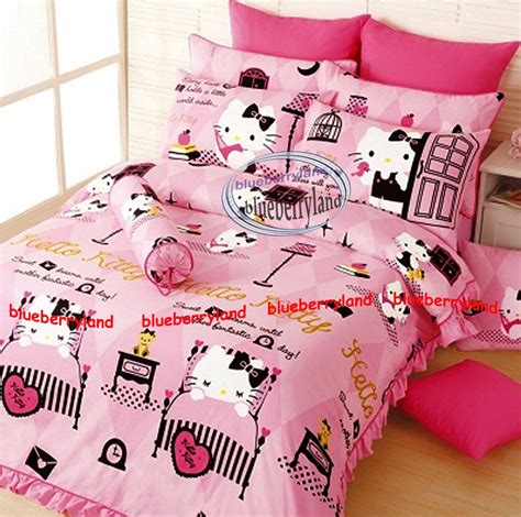 hello kitty queen comforter sanrio hello kitty bedding set queen size duvet cover